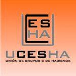 Logo Ucesha Naranja gradual